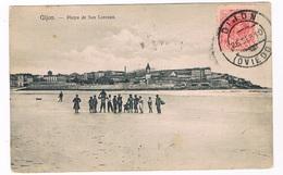 ES-2103   GIJON : Playa De San Lorenzo - Asturias (Oviedo)
