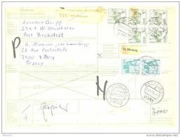 Bulletin D'Expédition / Paketkarte - Allemagne - Cachets Offenburg 1 Et Brokstedt - 1979 - Envoi Vers Paris - BRD