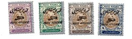 IRAN Persia 1927 Y&T  AM 9-12 MH - Iran