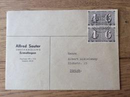 Schweiz Helvetia Swiss Suisse 1943, Obsthandlung Alfred Sauter In Ermatingen - Entiers Postaux