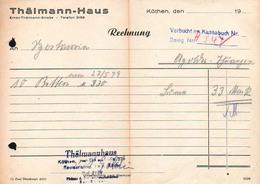 B4863 - Köthen - Thälmann Haus - Deutschland
