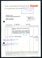 B4864 - Waldenburg - LPG Bauorganisation Eintracht - Deutschland