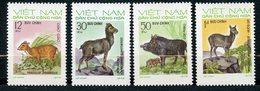Vietnam Du Nord, Yvert 790/793, Scott 698/701, MNH - Viêt-Nam