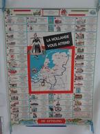 AFFICHE : La HOLLANDE  Vous Attend , Parc De Récréation De Efteling  , H79,2 L 60 - Affiches