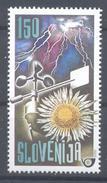 Slovenia Slovenie Slowenien 2000 Mint MNH **: Meteorology Wind Meter; Anémomètre; Storm Flowers Nature - Umweltschutz Und Klima