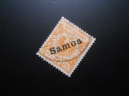 D.R.5a  25Pf  Deutsche Kolonien (Samoa)  1900   Mi 90,00 € - Geprüft Jaeschke - Colony: Samoa