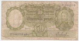 Argentina P 276 - 50 Pesos 1968 1969 - Fine - Argentina