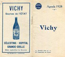 VICHY(AGENDA 1928) - Calendriers