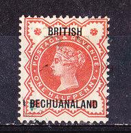 Bechuanaland 1886 -1 P. Rose Nuovo MLH - Bechuanaland (...-1966)