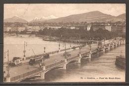 Carte P ( Suisse / Genève - Pont Du Mont-Blanc ) - GE Genève