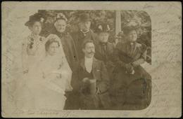 MARIAGE 1901 : Photo Mariage Animé - Noces