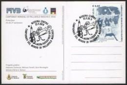 VOLLEYBALL - ITALIA MODENA 25.09.2010 - CAMPIONATI DEL MONDO DI PALLAVOLO MASCHILE - CARTOLINA MANIFESTO MONDIALI - Pallavolo