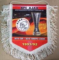 Pennant Ajax Amsterdam UEFA Cup Winner 1991-1992 - Fútbol