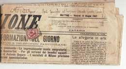 L561 01 CATANIA X LUGO - L'AZIONE 14 GIUGNO 1907 - Giornale Completo - 1900-44 Victor Emmanuel III.
