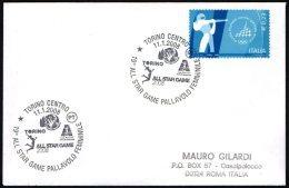 VOLLEYBALL - ITALIA TORINO 2008 - 19° ALL STAR GAME PALLAVOLO FEMMINILE - SMALL SIZE COVER - Pallavolo