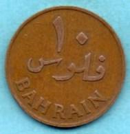 (r65)  BAHREIN  10 Fils 1965 - Bahrain