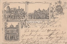 Portugal  Recordacao De CINTRA Post Used 1897  Pg67 - Lisboa