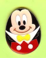 Pin's BD Disney Oeuf Mickey  - 8Z05 - Disney