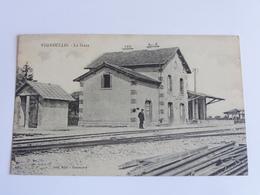 Vigneulles La Gare Cpa Dos Vert - Vigneulles Les Hattonchatel