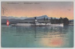 Vierwaldstättersee - Salondampfer Schwyz - Photo: E. Goetz - LU Lucerne