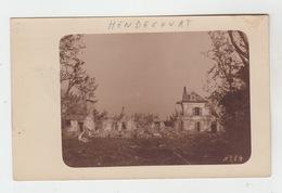 62 - HENDECOURT / CARTE PHOTO ALLEMANDE - Henin-Beaumont