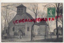 03-  TREVOL - EGLISE DES XII E ET XV E SIECLES - BELLE PIERRE TOMBALE - 1910 - Autres Communes