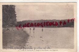03-  FORET DE TRONCAIS- ETANG DE SAINT BONNET - LES BAIGNEURS - 1941 - Autres Communes