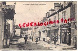03-  SAINT GERMAIN DES FOSSES - GRANDE RUE - CHAPELLERIE - EDITEUR BOUTENNAT BILLY - Autres Communes