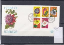 Surinam Michel Cat.No. FDC 807/811 Flowers - Surinam