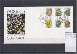 Surinam Michel Cat.No. FDC 836/843A Defs Fruits - Surinam