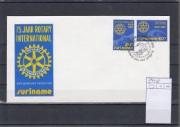 Surinam Michel Cat.No. FDC 894/895 Rotary - Surinam