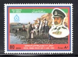 OMAN - 1993 -N° 348  **  Police - Oman