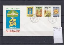 Surinam Michel Cat.No. FDC 1094/1097 Scouts - Surinam