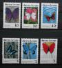 Butterflies Papillons Schmetterlinge Sierra Leone 1989 Mi 982A-987A / ** MNH - Butterflies