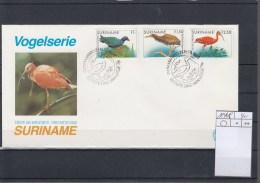 Surinam Michel Cat.No. FDC 1146/1148 Birds - Surinam