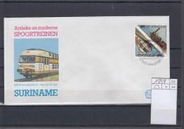 Surinam Michel Cat.No. FDC 1180/1181 Traiins - Surinam