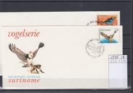 Surinam Michel Cat.No. FDC 1187/1188 Birds - Surinam