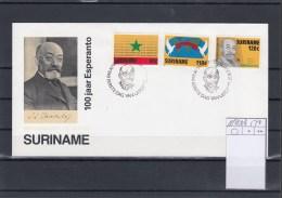 Surinam Michel Cat.No. FDC 1198/1200 Esperanto - Surinam