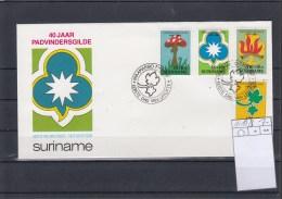 Surinam Michel Cat.No. FDC 1210/1213 Scouts - Surinam