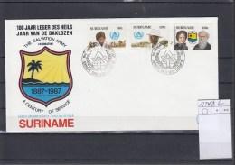 Surinam Michel Cat.No. FDC 1220/1222 - Surinam