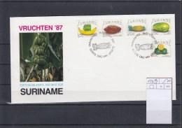 Surinam Michel Cat.No. FDC 1235/1239 Fruits - Surinam
