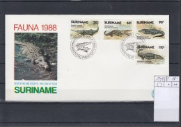 Surinam Michel Cat.No. FDC 1248/1251 - Surinam