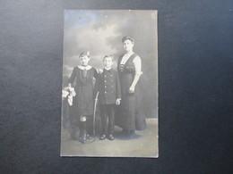 AK Frankreich Um 1910 Kinder Mit Mutter In Tracht Bzw. Sonntagskleidung! R. Guilleminot, Boespflug Et Cie Paris - Portraits