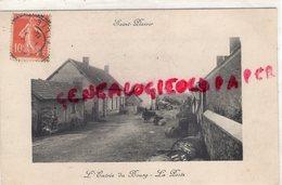 03 - SAINT PLAISIR - L' ENTREE DU BOURG - LA POSTE - 1912 - Autres Communes