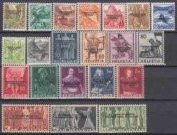 SCHWEIZ  Dienst Int. Amter BIT/ILO  62-82, Postfrisch **, 1944 - Dienstpost