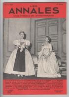 LES ANNALES 02 1960 - TECHNIQUE ET RELIGION - HISTOIRE DE L'ART - GISELE CASADESUS - PIERRE GASCAR - JEAN-CLAUDE RENARD - 1950 - Today