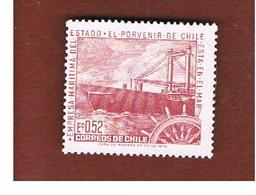 CILE (CHILE)  -  SG 660  -  1971 STATE MARITIME CORPORATION,SHIPS    -  MINT** - Cile