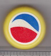 Romania Pepsi Cola Cap - Plastic Cap - Yellow - Soda