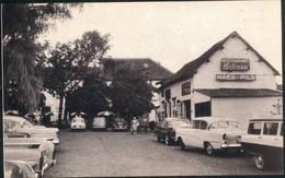 Wemmel : Privé-kaart Restaurant De L'Etang (l'Ancien Balcaen) Met Veel Oldtimers - Wemmel