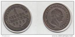 Allemagne Preussen Prusse 1 Silber Groschen 1858 A  KM#435 - [ 1] …-1871 : German States